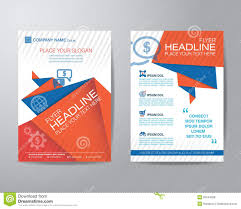 brochure flyer design layout template business concept stock abstract triangle brochure flyer design layout template in a4 si royalty stock photos