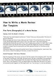 How to write a movie essay   Academic essay