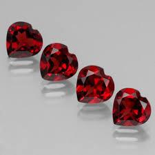 Красный <b>Гранат Альмандин</b> 5.6ct (4 pcs) <b>Сердце</b> от Индия ...