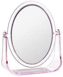 """<b>Зеркало косметическое</b> """"<b>Top</b> Star"""", настольное, цвет: розовый, 15 ..."""