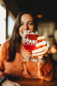 2Upland FSQ <b>Girl with Beer</b> - Upland Brewing Co.