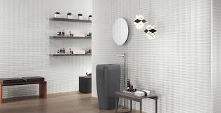 <b>3D Wall</b> Tiles in the Bathroom – <b>Atlas Concorde</b>