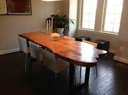 maple kitchen table philip live edge dining table in spalted maple