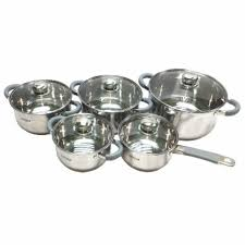 <b>Vitesse</b> 10 pc cooking cookware set silicone handle glass | Shopee ...