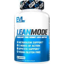 <b>LeanMode</b> (50 Servings - Capsules) - EVLUTION NUTRITION