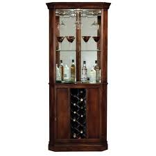 howard miller piedmont wine and spirits corner home bar cabinet in cherry at home bar furniture