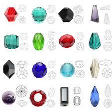 <b>ZHUBI Crystal Drop Pendant</b> 3x5/6x8mm Red Miyuki Teardrop ...