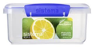 <b>Контейнер пищевой Sistema</b> 1600, Пластик — купить в интернет ...
