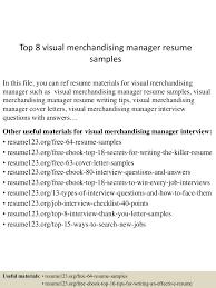 Merchandise Manager Resume Sample Resume For Your Job Application