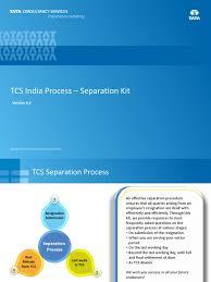 tcs process separation kit