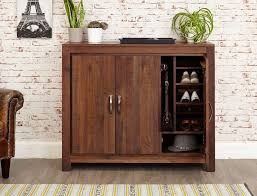 baumhaus mayan walnut shoe cupboard extra large baumhaus mobel oak extra