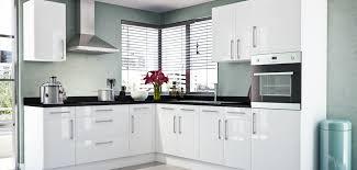 gloss white kitchen units