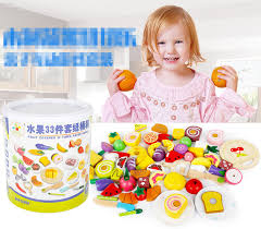 <b>Baby Toys</b> 22/26/33Pcs <b>Magnetic</b> Fruit/Vegetable/Dessert Food Cut ...