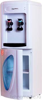 <b>Aqua Work 0.7LDR</b> белый эл. охл, шкаф, нажим кружкой <b>кулер</b> ...