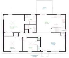 House floor plans  Home layouts and House design on PinterestSimple One Floor House Plans   Ranch Home Plans   House Plans and More