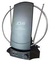 """<b>Телевизионная комнатная антенна</b> """" <b>Zolan</b> """" FB-029 (UNF,VHF ..."""