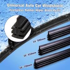 """<b>1Pc</b>/<b>2Pcs</b> 24"""" 26'' 28"""" 6mm <b>Universal</b> Silicone Windshield Wiper ..."""