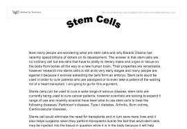 against stem cell research essay   best argument essay topicsonly a few papers and meeting reports have emerged from the handful of labs that work   human pluripotent  stem cell research has    this research