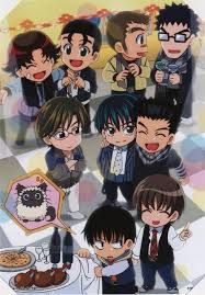Image result for prince of tennis chibi fuji