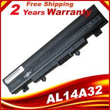 HSW AL14A32 <b>Laptop battery For Acer</b> Aspire E5 572G E14 E5 ...