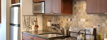 stone mosaic tile kitchen