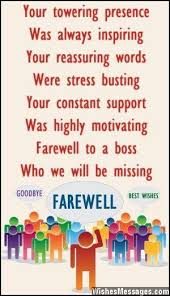 Farewell messages for boss: Goodbye messages for boss | Projects ... via Relatably.com