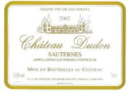 """Résultat de recherche d'images pour """"chateau dudon 2010"""""""