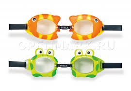 <b>Очки</b> для плавания <b>Intex</b> 55603 <b>Fun</b> Goggles (от 3 до 8 лет ...
