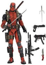 NECA Marvel Classics Deadpool 1/4 Scale Action ... - Amazon.com