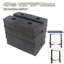 <b>4Pcs</b>/<b>lot Universal</b> Square Ox Tendon Rubber Arm Pads lift pad ...