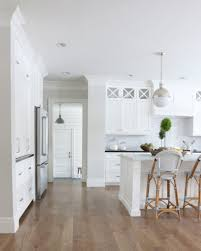 bright neutral kitchen wall color is classic gray benjamin moore studio mcgee