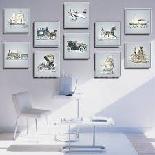office decoration diy wall art mural canvas painting picture frame vintage home decor modern abstract oil aliexpresscom buy office decoration diy wall