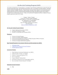 sample career objective for ojt resume templates sample career objective for ojt sample internship cv internship cv formats templates letter for ojt hrm