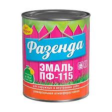 <b>Эмаль ПФ-115 Фазенда бежевая</b> 0.9 кг - купить в Пскове. ТД ...