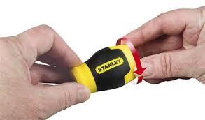 """<b>Отвертка</b> Stanley 0-66-357 """"Multibit stubby"""" со <b>сменными вставками</b>"""