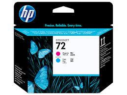HP 72, <b>Печатающая головка HP</b>, Пурпурная и Голубая | HP® Russia