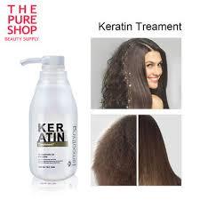 PURE 300ml 5% BRAZILIAN <b>KERATIN</b> TREATMENT Straightening ...