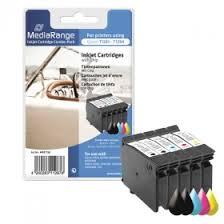 MediaRange Ink Cartridge, Refilled, Replaces <b>Epson</b> T1281 - T1284 ...