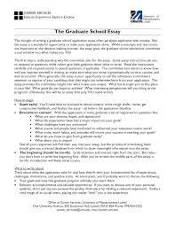 graduate school admission essay examples  essay example essays for masters degree