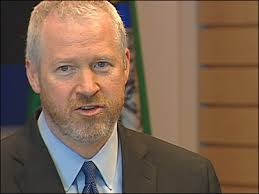 Outgoing Seattle Mayor Mike McGinn