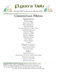 christmas menu template templates in pdf word excel christmas menu template