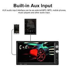 Xigeapg New 7 2 Din <b>Touch Screen Car MP5</b> Player Bluetooth ...