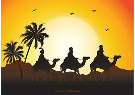 Image result for wise men on camels