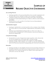 good objectives career objective examples for resumes accounting career objectives resume examples general career objective examples for resumes career objective examples for resumes career