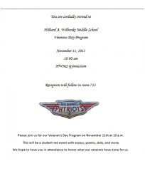 middle schools to honor veterans now habersham wilbanks middle school will hold its veteran s day celebration on 11 2015 beginning at 10 a m this will be a student led event poems essays