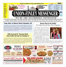 union finley messenger sept by south hills mon valley union finley messenger sept 2013 by south hills mon valley messenger issuu