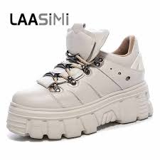 <b>LAASIMI</b> 2019 New Arch Support Retro <b>Women Boots</b> PU Leather ...