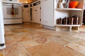 Large Floor Tiles For Kitchen Stone Kitchen Flooring Options Kitchen Flooring Options To Show