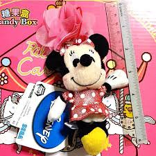 <b>12CM</b> Cute Japan Disney Minnie Mickey <b>Mouse</b> Bling Pink Flower ...
