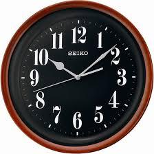 <b>Seiko QXA550Z</b> - <b>Настенные часы</b> в темном деревянном корпусе ...